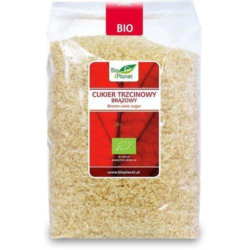 Cukier trzcinowy brązowy bio 1kg marki Bio planet