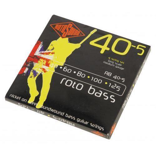 Rotosound rb 40-5 struny do gitary basowej 40-125