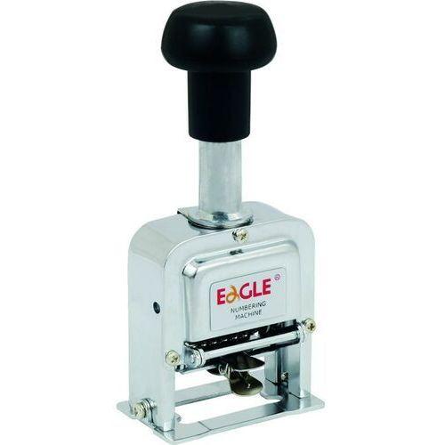 Numerator Eagle TY-102/6, 6 cyfrowy, wysokość czcionki 4 mm - Super Cena - Autoryzowana dystrybucja - Szybka i tania dostawa (5903364210434)