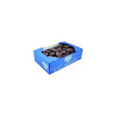 Kruche ciasteczka wadowickie oblane czekoladą 1 kg marki Skawa