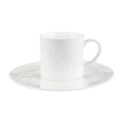 Duo Mozaika 2 filiżanki do kawy herbaty nowoczesne