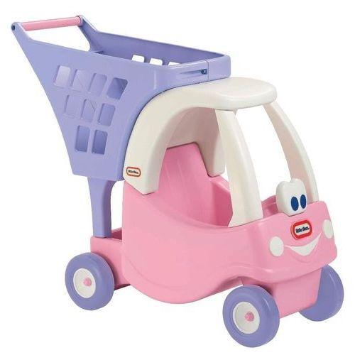 Little Tikes, Cozy, wózek na zakupy, różowy