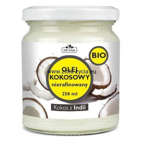 Organiczny olej kokosowy, nierafinowany - Dr Gaja - Pochodzi z ekologicznych upraw, 23108685