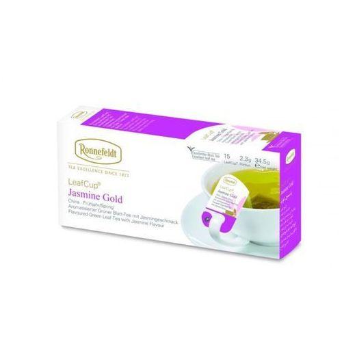 Zielona herbata Ronnefeldt Leaf Cup Jasmine Gold 15x2,3g (4006465136700)