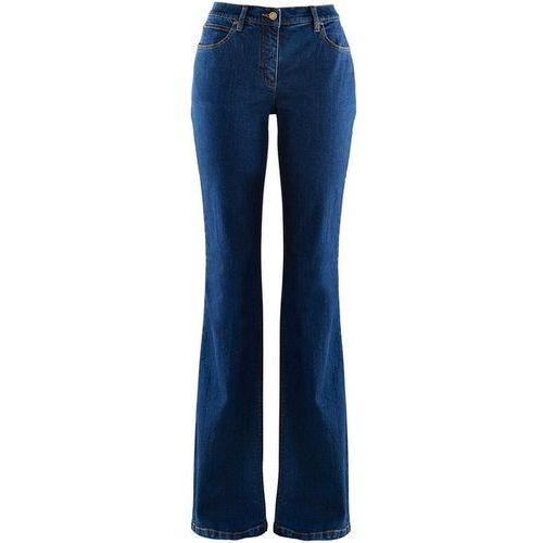 Dżinsy BOOTCUT bonprix niebieski, kolor niebieski, od rozmiaru 36