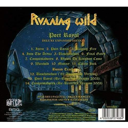Bmg sony music Running wild - port royal [deluxe expanded edition cd] (4050538274684)