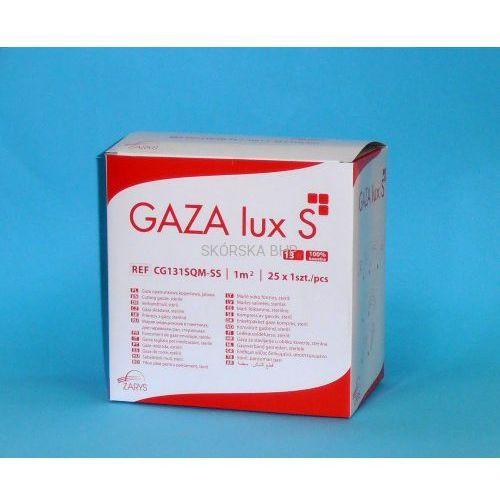 Zarys Gaza opatrunkowa jałowa 1 m2 gaza lux s 13n - opakowanie 25 szt.