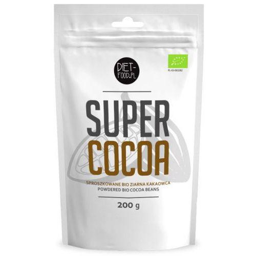 Kakao sproszkowane 200g - - eko logiczne! marki Diet-food