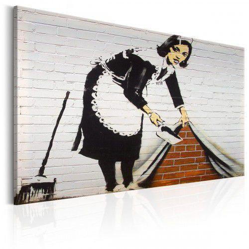 Obraz - maid in london by banksy marki Artgeist