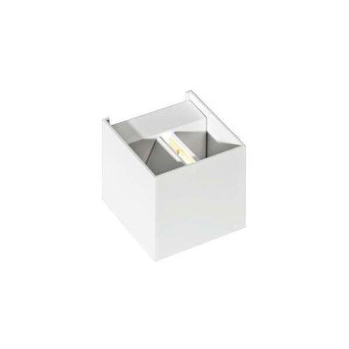 Azzardo kinkiet/lampa ścienna LED GAMBINO biały LC8005-WH (5901238409502)