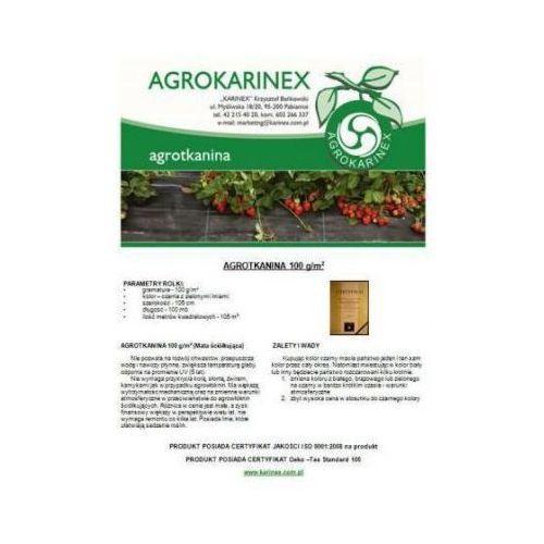 Agrotkanina 100 g/m2, 1,05 X 100 mb. Rolka - produkt z kategorii- folie i agrowłókniny