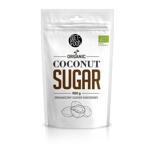 Cukier kokosowy bio 400g marki Diet-food