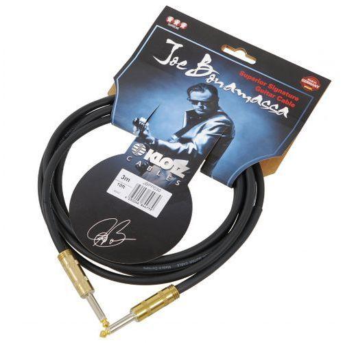 jbpp030 joe bonamassa kabel gitarowy 3m, jack-jack, pozłacane wtyki marki Klotz