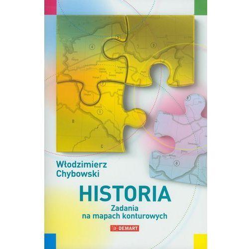 Historia. Zadania na mapach konturowych (9788374277938)