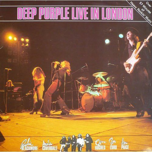 Live in london - deep purple (płyta cd) marki Emi music poland