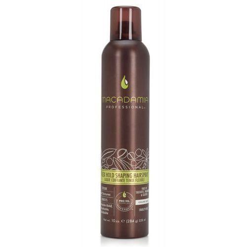 Macadamia Flex Hold Shaping Hairspray - średnio-utrwalający lakier do włosów 328ml