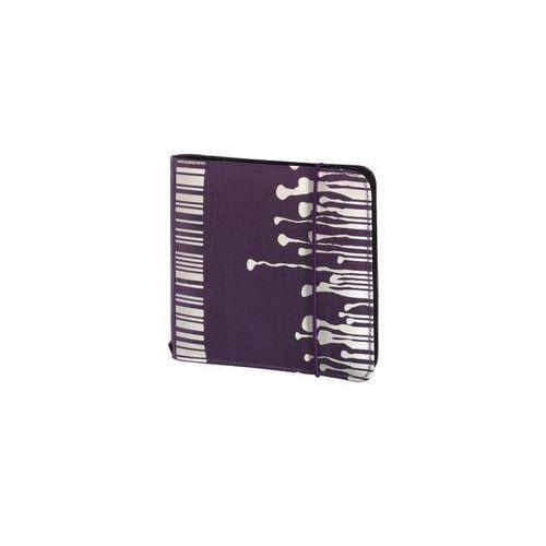 POKROWIEC HAMA NA 24CD WALLET SLIM GUMKA FIOLETOWY 95667 (pudełko i etui na płytę)