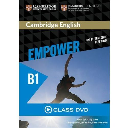 Cambridge English Empower Pre-intermediate Class DVD (Płyta DVD)