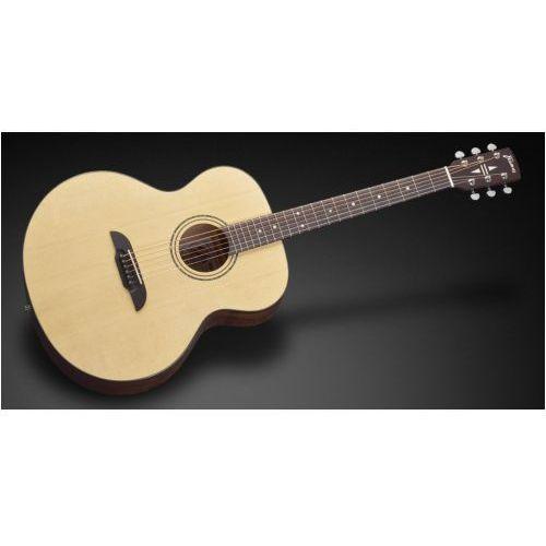 fj 14 sv - vintage transparent satin natural tinted gitara akustyczna marki Framus