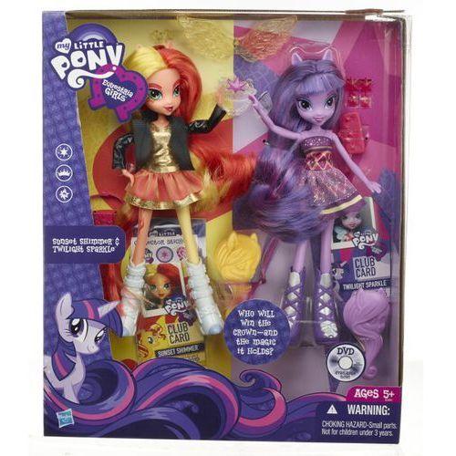 Lalka HASBRO My Little Pony Equestria Girls Dwupak A3997 - sprawdź w Media Expert