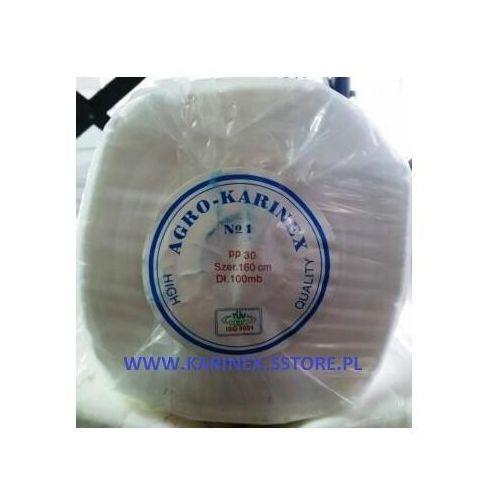 Agrowółknina zimowa PP 30 g/m2 biała 1,6 x 100 mb., PP 30/160/100/B rolka