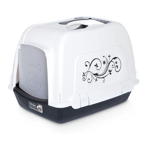 Pet Inn Kuweta Kryta Space Cat Deco line kolor czarny nr kat.111597