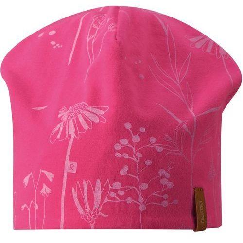 Reima dziewczęca czapka Tanssi 48/50 różowy/pomarańczowy, kolor różowy