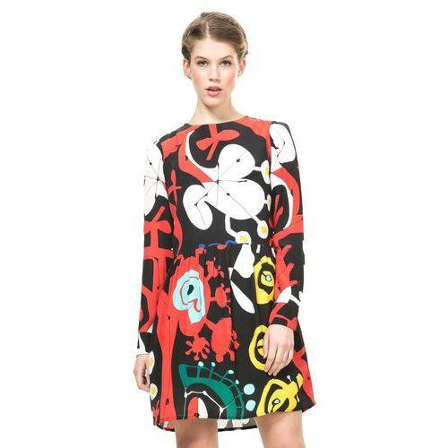 Desigual sukienka damska 42 wielokolorowy