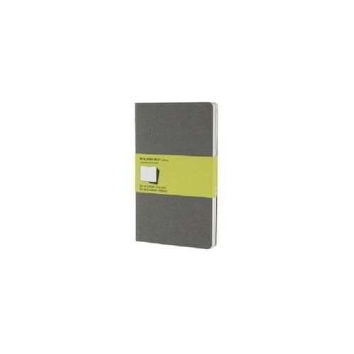 Moleskine Pebble Grey Plain Cahier Large Journal (9788866134251)
