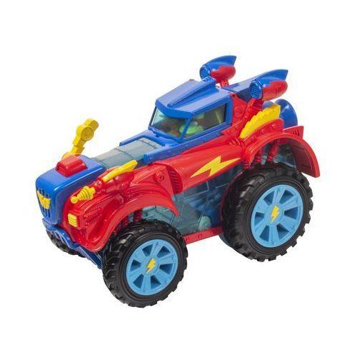 SuperZings Pojazd bohaterów Monster Roller i 2 figurki (8431618009680)