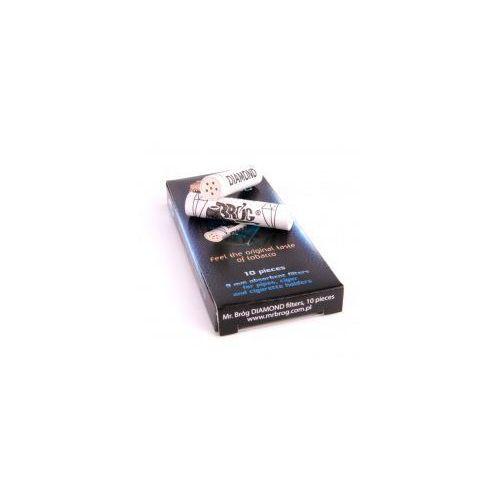 Filtr fajkowy węglowy 9 mm 10szt Filtry do fajki Diamond Mr Bróg