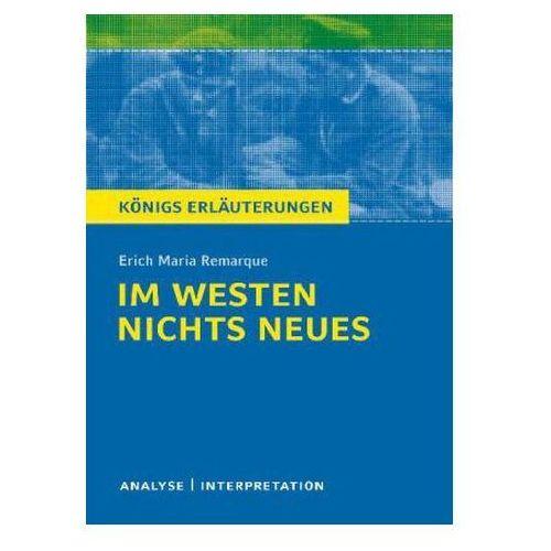 Erich M. Remarque 'Im Westen nichts Neues' (9783804419797)