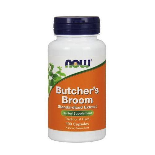 Kapsułki Now Foods Butcher's Broom (Ruszczyk kolczasty) standaryzowany ekstrakt 100 kaps.