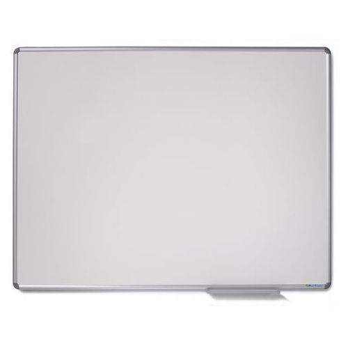 Tablica ścienna design, emaliowana na biało, szer. x wys. 1200x900 mm. wysokiej marki Office akktiv