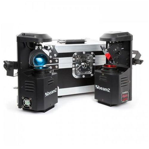 Beamz PocketScan Zestaw 2 skanery i skrzynia transportowa LED 7 kolorów (8715693285130)