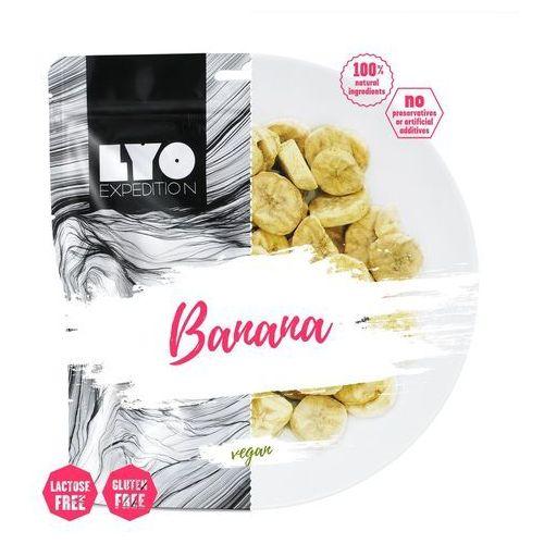 Liofilizowany banan 30g marki Lyofood