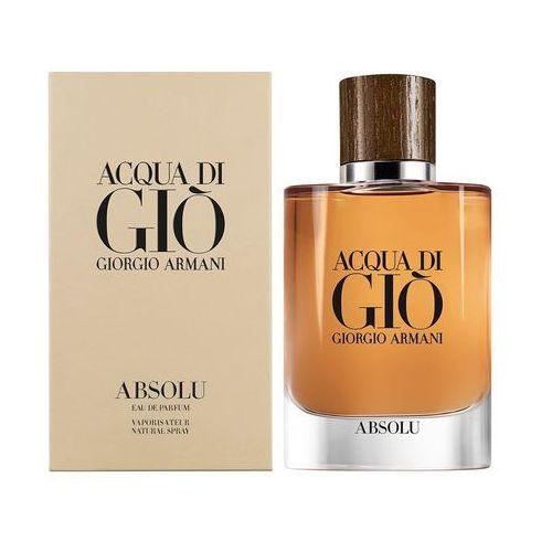 Giorgio Armani Acqua di Gio Absolu woda perfumowana 125 ml dla mężczyzn (3614271992932)