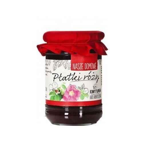 Konfitura domowa z płatków róży 350g marki Premium rosa