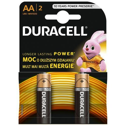Bateria basic lr6/aa 2 szt. marki Duracell
