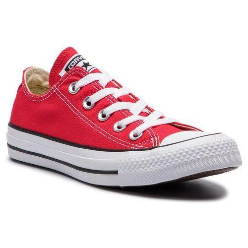 Trampki - all star m9696 czerwony marki Converse