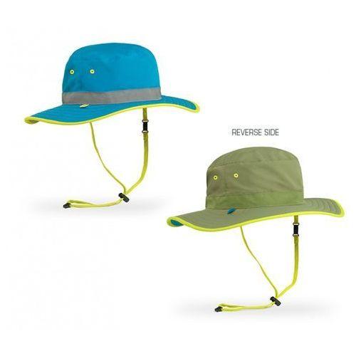 Kapelusz dwustronny UV Sunday Afternoons Kid's Clear Creek Boonie niebieski-khaki