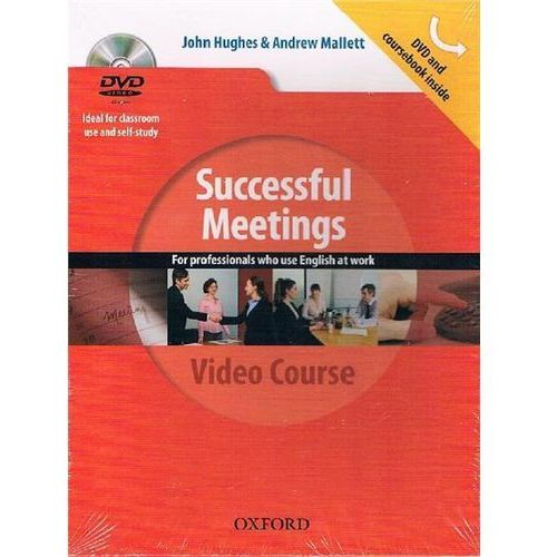 Business Result Success. Successful Meetings in English. Podręcznik + DVD (9780194768399)