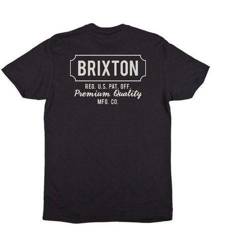 koszulka BRIXTON - Russel Black 0100 (0100) rozmiar: M, 1 rozmiar