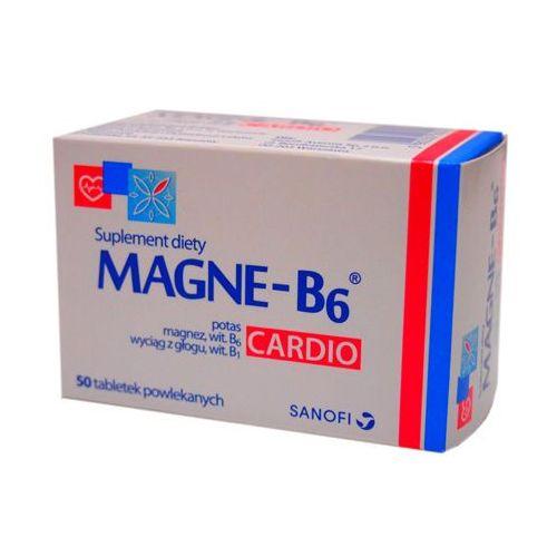 Magne b6 cardio, 50 tabletek darmowa dostawa od 39,99zł do 2kg! marki Sanofi aventis sp. z o.o. - rzeszów