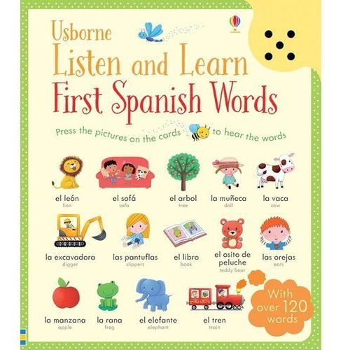 Listen and Learn First Spanish Words, oprawa twarda