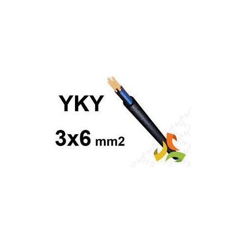KABEL YKY 3x6mm2 PRZEWÓD ZIEMNY MIEDZIANY - oferta (65bd22763721d21d)