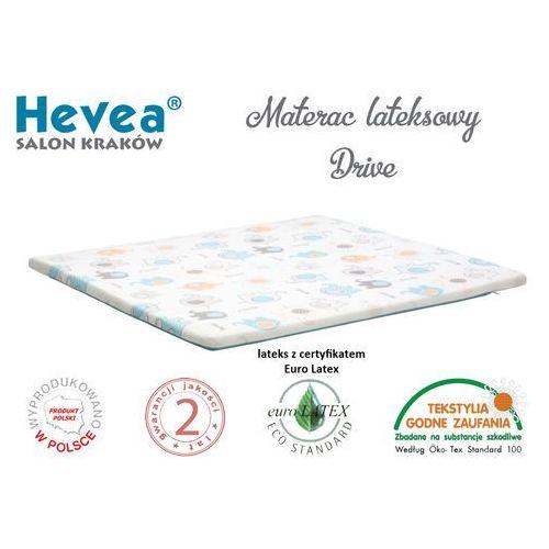 Materac lateksowy happy baby drive 100x100 marki Hevea