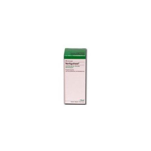 HEEL Vertigoheel (zawroty głowy, choroba lokomocyjna) krople 30ml Kurier: 13.75, odbiór osobisty: GRATIS! (Homeopatia)