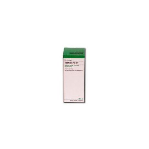 Oferta HEEL Vertigoheel (zawroty głowy, choroba lokomocyjna) krople 30ml Kurier: 13.75, odbiór osobisty: GRATIS! (Homeopatia)