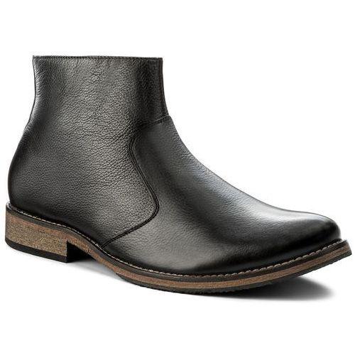 Kozaki LANQIER - 35A706 Czarny, kolor czarny